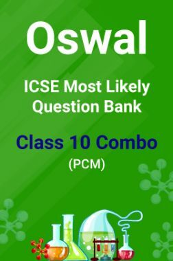 Oswal ICSE Most Likely Question Bank Class 10 Combo (PCM)