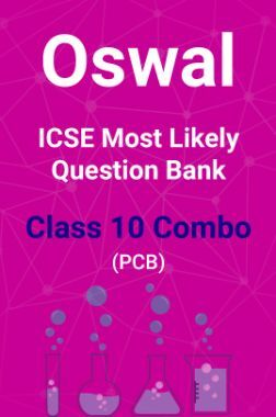 Oswal ICSE Most Likely Question Bank Class 10 Combo (PCB)