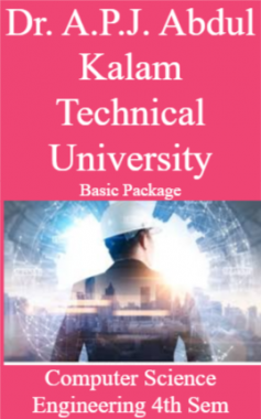 Dr. A.P.J. Abdul Kalam Technical University Basic Package Computer Science Engineering 4th Sem