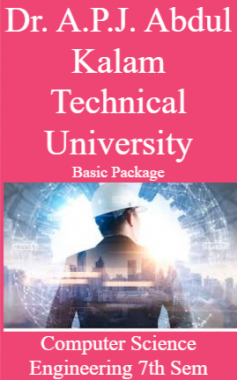 Dr. A.P.J. Abdul Kalam Technical University Basic Package Computer Science Engineering 7th Sem