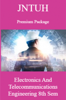 JNTUH Premium Package Electronics and Telecommunications Engineering VIII SEM