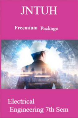 JNTUH Freemium Package Electrical Engineering VII SEM