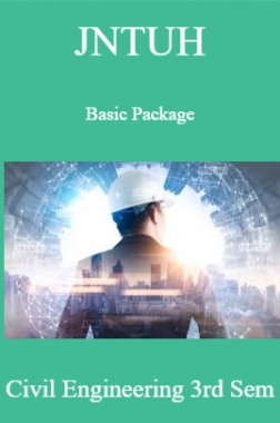 JNTUH Basic Package Civil Engineering 3rd Sem