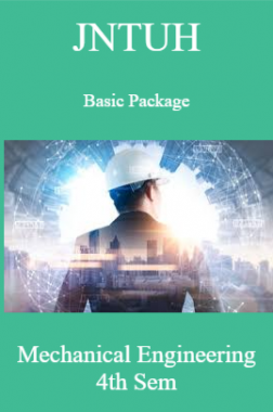 JNTUH Basic Package Mechanical Engineering 4th Sem