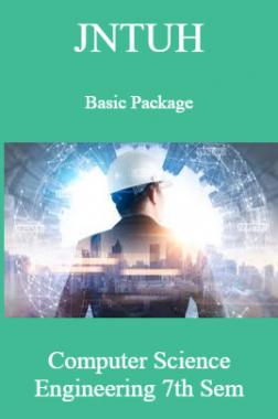 JNTUH Basic Package Computer Science Engineering 7th Sem