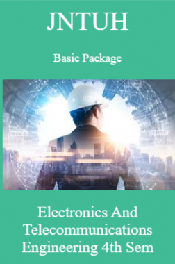 JNTUH Basic Package Electronics And Telecommunications Engineering 4th Sem