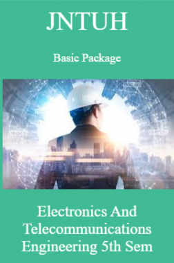 JNTUH Basic Package Electronics And Telecommunications Engineering 5th Sem