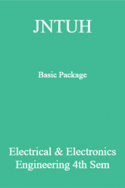 JNTUH Basic Package Electrical & Electronics Engineering 4th Sem