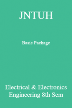 JNTUH Basic Package Electrical & Electronics Engineering 8th Sem