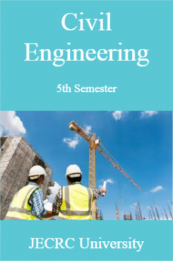 Civil Engineering 5th Semester For JECRC University