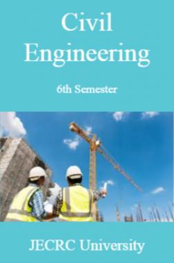 Civil Engineering 6th Semester For JECRC University