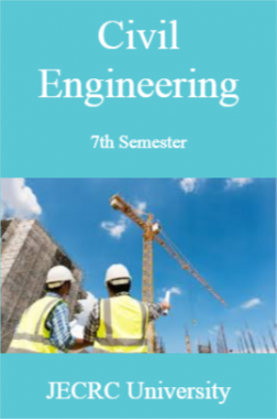 Civil Engineering 7th Semester For JECRC University