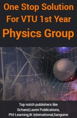 One Stop Solution For VTU 1st Year Physics Group