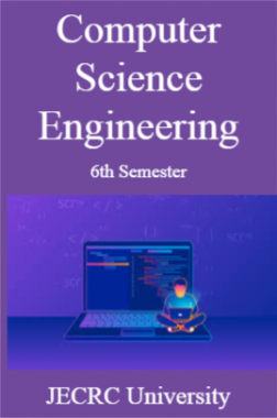 Computer Science Engineering 6th Semester For JECRC University