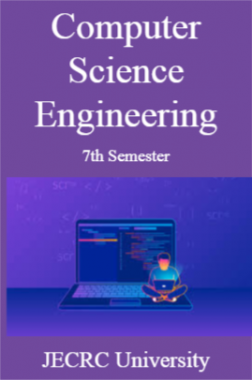 Computer Science Engineering 7th Semester For JECRC University