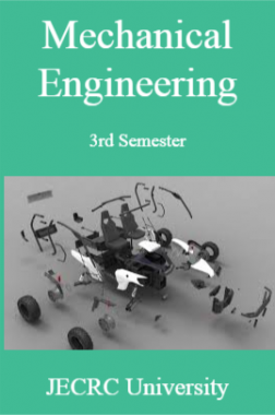 Mechanical Engineering 3rd Semester For JECRC University