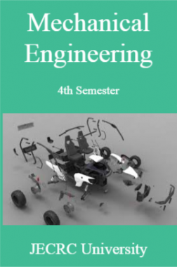Mechanical Engineering 4th Semester For JECRC University