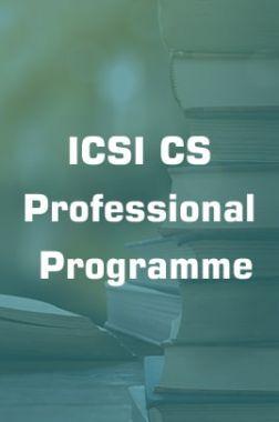 ICSI CS Professional Programme