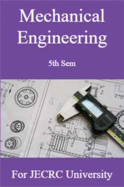 Mechanical Engineering 5th Semester For JECRC University