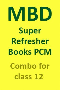 MBD Super Refresher Books PCM Combo For Class 12