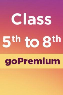 Class 5 to 8 Go Premium