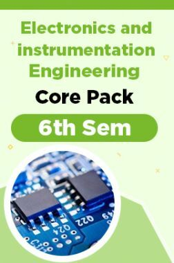 6th Sem Electronics and instrumentation Engineering Core Pack