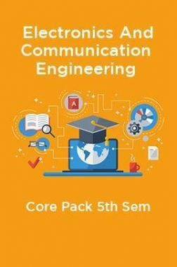 5th Sem Electronics And Communication Engineering Core Pack
