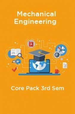 3rd Sem Mechanical Engineering Core Pack