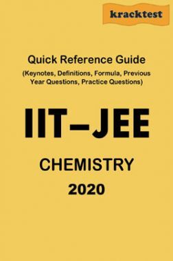 Quick Reference Guide For IIT-JEE Chemistry (2020)