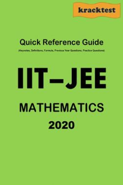 Quick Reference Guide For IIT-JEE Mathematics (2020)