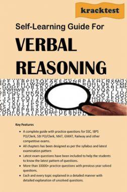 Self Learning Guide For Verbal Reasoning