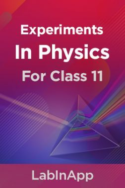 Physics Experiments For Class 11