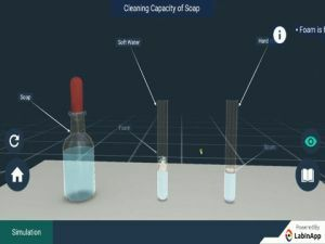 Carbon And Its Compounds - Cleaning Capacity Of Soap Experiments