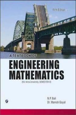 A Text Book of Engineering Mathematics Sem-II Anna University Chennai