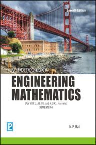 A Text Book of Engineering Mathematics Sem-I (Haryana) By N.P.Bali
