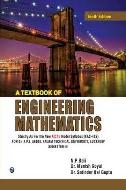 A Textbook Of Engineering Mathematics (Sem-III)