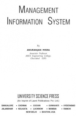 Management Information System By Anuranjan Misra