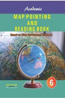 Academic Map Pointing And Reading Book-VI