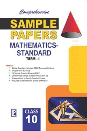 Comprehensive Sample Papers Mathematics X (Standard) (Term-I)