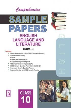 Comprehensive Sample Papers English Language and Literature X (Term-I)
