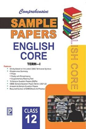 CBSE Sample Papers English Core Term-I For Class-12