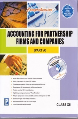 Comprehensive Accountancy Class 12th New 2013