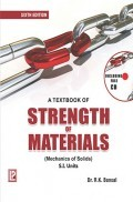A Textbook Of Strength Of Materials (Mechanics Of Solids) 6th Edition