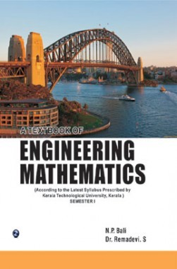 A Textbook Of Engineering Mathematics Sem-I (Kerla Technological University) Kerla