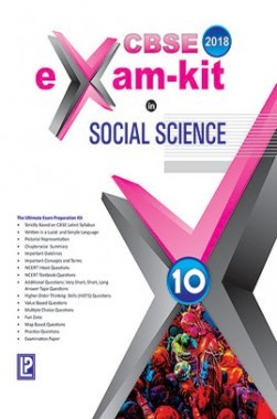 CBSE Exam Kit In Social Science Class 10 For 2018 Exam