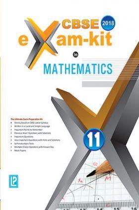 CBSE Exam Kit In Mathematics Class 11