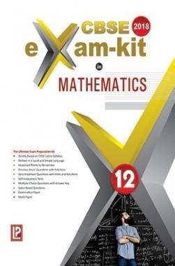 CBSE Exam Kit In Mathematics Class 12