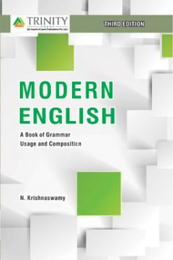 Modern English A Book Of Grammar, Usage And Composition