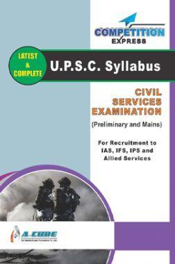 UPSC Syllabus Civil Services Examination (Preliminary And Mains)