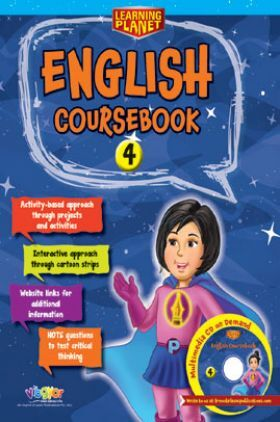 Learning Planet English Coursebook - 4